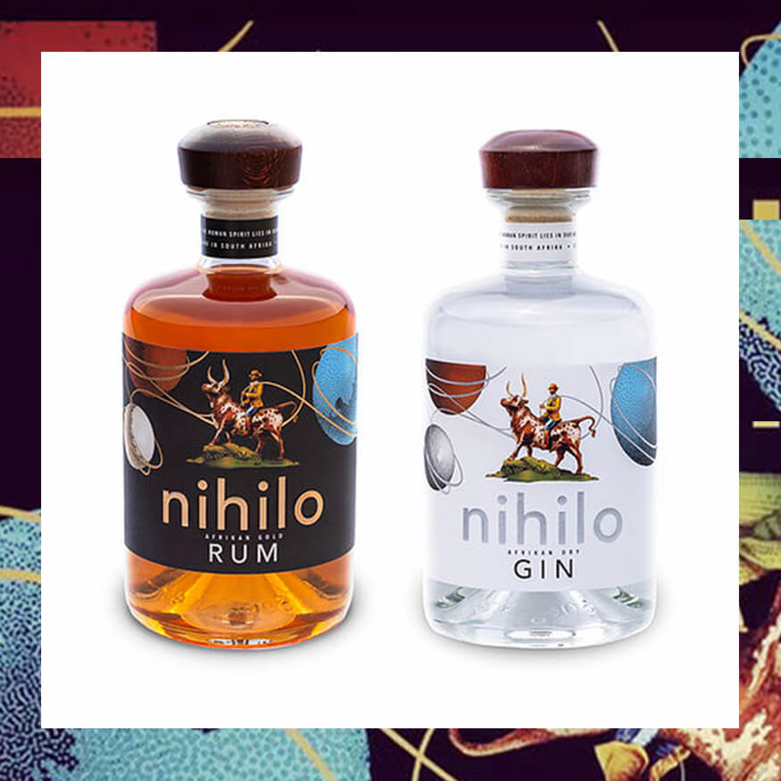 Nihilo Africa Gin and Rum